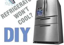سرد نشدن یخچال