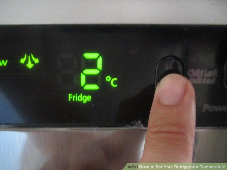 تنظیم دمای یخچال مابه